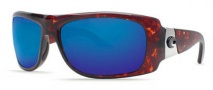 Costa Del Mar Bonita Sunglasses Tortoise Frame Sunglasses - Blue Mirror / 400G