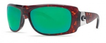 Costa Del Mar Bonita Sunglasses Tortoise Frame Sunglasses - Green Mirror / 400G