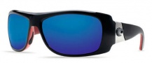 Costa Del Mar Bonita Sunglasses Black Coral Frame Sunglasses - Copper / 580P