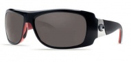 Costa Del Mar Bonita Sunglasses Black Coral Frame Sunglasses - Gray / 580G