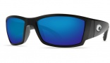 Costa Del Mar Corbina Sunglasses Black Frame Sunglasses - Blue Mirror / 400G