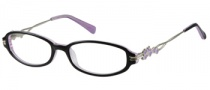 Harley Davidson HD 341 Eyeglasses Eyeglasses - BLK: Black On Lavender 