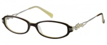 Harley Davidson HD 341 Eyeglasses Eyeglasses - BRN: Brown On Yellow