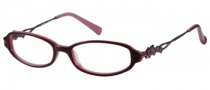 Harley Davidson HD 341 Eyeglasses Eyeglasses - BU: Burgundy On Pink 