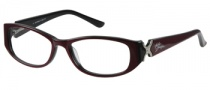 Harley Davidson HD 343 Eyeglasses Eyeglasses - RB: Ruby On Black