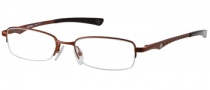 Harley Davidson HD 353 Eyeglasses Eyeglasses - OR: Satin Dark Orange