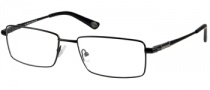 Harley Davidson HD 366 Eyeglasses Eyeglasses - BLK: Shiny Black 