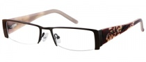 Harley Davidson HD 386 Eyeglasses Eyeglasses - BRN: Shiny Brown