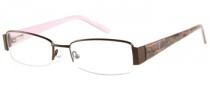 Harley Davidson HD 392 Eyeglasses Eyeglasses - BRN: Shiny Brown
