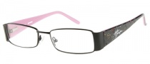 Harley Davidson HD 393 Eyeglasses Eyeglasses - BLK: Satin Black 