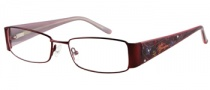 Harley Davidson HD 393 Eyeglasses Eyeglasses - WN: Satin Wine 