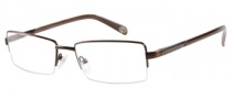 Harley Davidson HD 401 Eyeglasses Eyeglasses - BRN: Shiny Brown