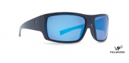 Von Zipper Suplex Sunglasses Sunglasses - BPU Black Gloss / Blue Chrome Glass Polarized