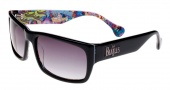 Beatles BYS 002 Sunglasses Sunglasses - Black / Grey Lens