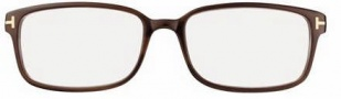 Tom Ford FT5209 Eyeglasses Eyeglasses - 047 Light Brown