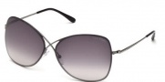 Tom Ford FT0250 Colette Sunglasses Sunglasses - 08C Anthracite