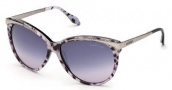 Roberto Cavalli RC670S Sunglasses Sunglasses - 05B Grey Black