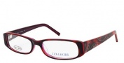 Cover Girl CG0372 Eyeglasses Eyeglasses - 054 Red Havana