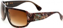 Ed Hardy Rock Sunglasses Sunglasses - Grey Horn / Grey Gradient