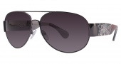 Ed Hardy Zeke Sunglasses Sunglasses - Matte Gun / Grey Gradient
