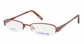Cover Girl CG0384 Eyeglasses Eyeglasses - 048 Shiny Dark Brown