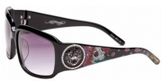 Ed Hardy EHS 053 Sunglasses Sunglasses - Black / Grey Gradient