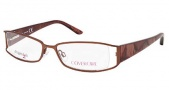 Cover Girl CG0413 Eyeglasses Eyeglasses - 776 Shiny Dark Brown