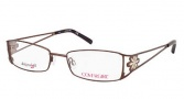 Cover Girl CG0421 Eyeglasses Eyeglasses - 045 Shiny Light Brown