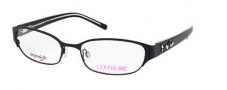 Cover Girl CG0424 Eyeglasses Eyeglasses - 002 Matte Black 