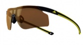 Adidas A185 Adizero Tempo L Sunglasses Sunglasses - Black Yellow / LST Contrast