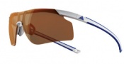 Adidas A185 Adizero Tempo L Sunglasses Sunglasses - White Blue / LST Active