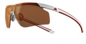 Adidas A185 Adizero Tempo L Sunglasses Sunglasses - White Red / LST Active