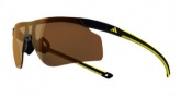 Adidas A186 Adizero Tempo S Sunglasses Sunglasses - Black Yellow / LST Contrast