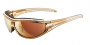 Adidas A127 Sunglasses Sunglasses - Gold White / LST Active + LST Bright