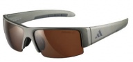 Adidas A401 Retego II Sunglasses Sunglasses - Matt Silver Grey / LST Polarized