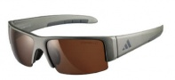 Adidas A401 Retego II Sunglasses Sunglasses - Matt Silver Grey / LST Contrast Light Silver