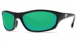 Costa Del Mar Maya Sunglasses Black Frame Sunglasses - Green Mirror / 580G