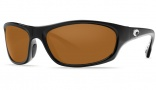 Costa Del Mar Maya Sunglasses Black Frame Sunglasses - Amber / 580P
