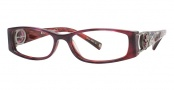 Ed Hardy EHO 718 Eyeglasses Eyeglasses - Burgundy