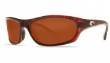 Costa Del Mar Maya Sunglasses Tortoise Frame Sunglasses - Copper / 580G