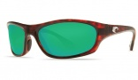 Costa Del Mar Maya Sunglasses Tortoise Frame Sunglasses - Green Mirror / 580G