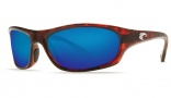 Costa Del Mar Maya Sunglasses Tortoise Frame Sunglasses - Blue Mirror / 580G