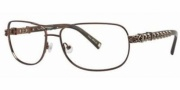 Ed Hardy EHO 722 Eyeglasses Eyeglasses - Brown