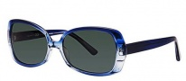 OGI Eyewear 8049 Sunglasses Sunglasses - 1283 Blue Gradient / Royal Blue