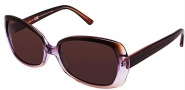 OGI Eyewear 8049 Sunglasses Sunglasses - 1285 Brown Purple / Gradient Brown
