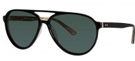 OGI Eyewear 8051 Sunglasses Sunglasses - 229 Black / Light Horn