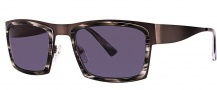 OGI Eyewear 8053 Sunglasses Sunglasses - 1373 Dark Gunmetal / Gray Demi