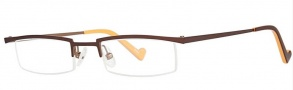 OGI Eyewear 2218 Eyeglasses Eyeglasses - 952 Brown Tan