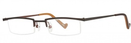 OGI Eyewear 2218 Eyeglasses Eyeglasses - 953 Dark Olive Brown