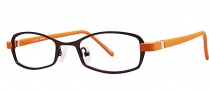 OGI Eyewear 2220 Eyeglasses Eyeglasses - 678 Dark Red / Burnt Orange